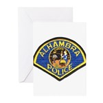 Alhambra Police Greeting Cards (Pk of 10)