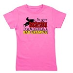 Not Totally Useless - Snowmobiling Girl's Tee