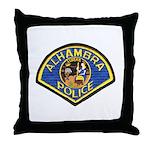 Alhambra Police Throw Pillow
