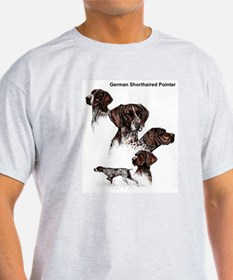 German Shorthaired Pointer Ash Grey T-Shirt