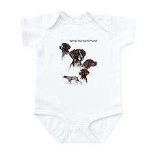 German Shorthaired Pointer Infant Bodysuit