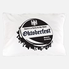 Oktoberfest Party in the Haus Pillow Case