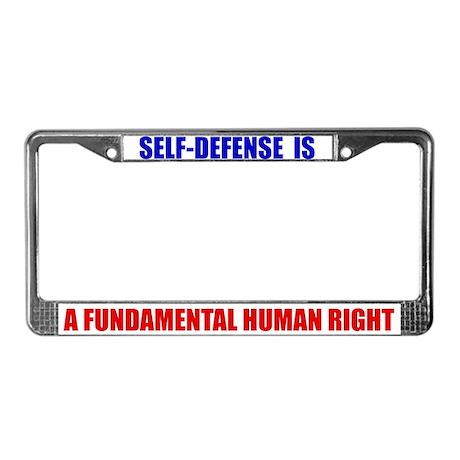 Self-Defense is Fundamental License Frame