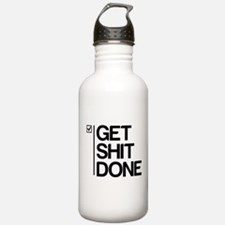 Get Shit Done Water Bottle