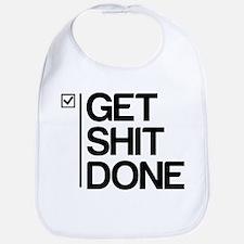 Get Shit Done Bib