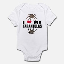 I Love My Tarantulas Body Suit