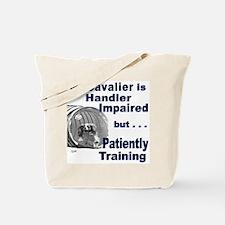 Cavalier Agility Tote Bag