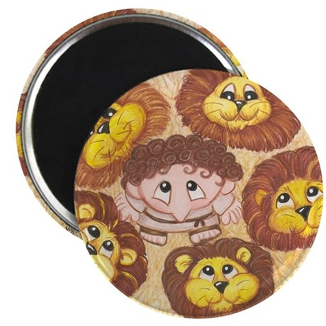 Daniel in the Lion's Den Magnet