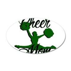 cheer mom 2 Wall Decal