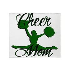 cheer mom 2 Throw Blanket