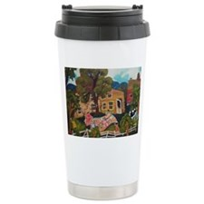 African American Quilting Travel Mug