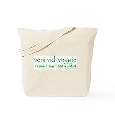 Veni Vidi Veggie Tote Bag