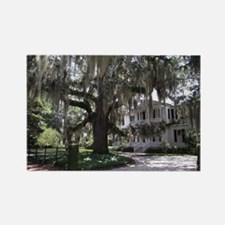 South Carolina Stately home Rectangle Magnet