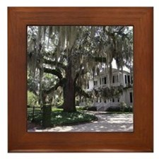 South Carolina Stately home Framed Tile