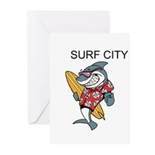 Surf City Greeting Cards