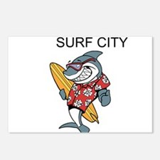 Surf City Postcards (Package of 8)