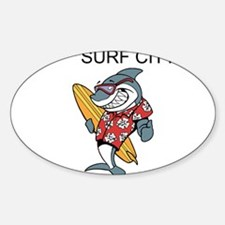 Surf City Decal