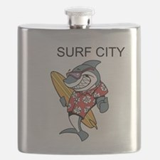 Surf City Flask