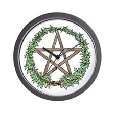 Ivy Pentacle -  Wall Clock