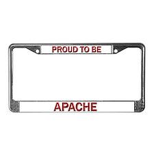 Apache License Plate Frame