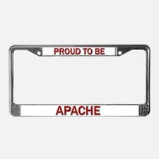 Apache License Plate Frame