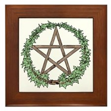 Ivy Pentacle -  Framed Tile