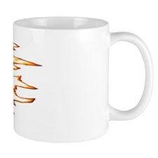 Wingless Flaming Sprint Mug
