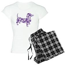 Hawaiian Doxie Dachshund Pajamas