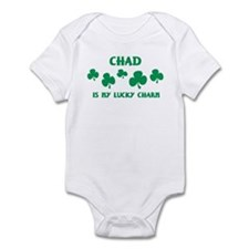 Chad is my lucky charm Onesie