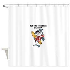 Huntington Beach, California Shower Curtain