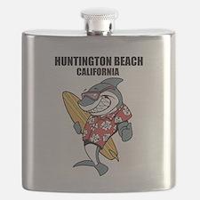 Huntington Beach, California Flask