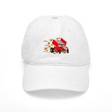 Flaming Winged Sprint Baseball Cap