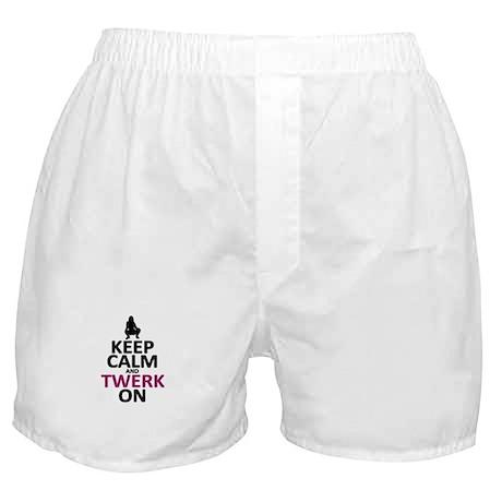 Keep Calm and Twerk On Boxer Shorts