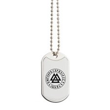 valknut Dog Tags