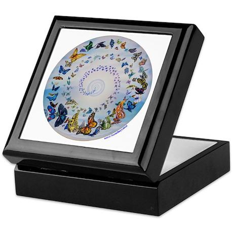 Butterfly Mandala * Transformation Keepsake Box