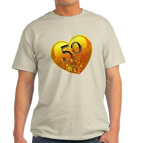 50th Golden Anniversary Light T-Shirt