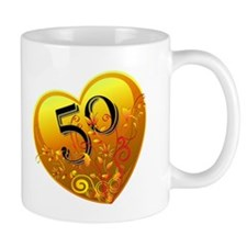 50th Golden Anniversary Mug