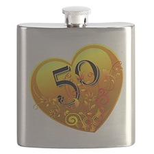 50th Golden Anniversary Flask