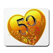 50th Golden Anniversary Mousepad