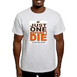 Cleveland rocks Mens Light T-shirts