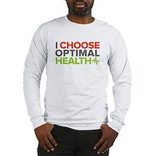 Dr. A I Choose Logo - Long Sleeve T-Shirt