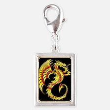 Golden Dragon Symbol Charms