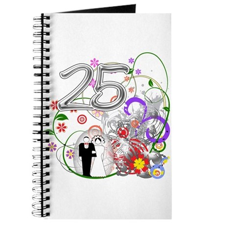 25th Silver Anniversary Journal