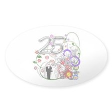 25th Silver Anniversary Decal