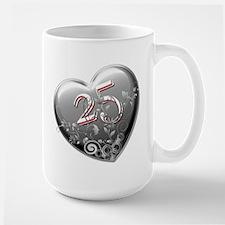 25th Anniversary Large Mug