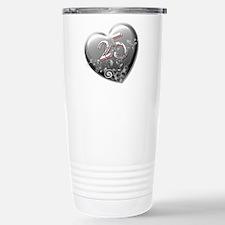 25th Anniversary Travel Mug