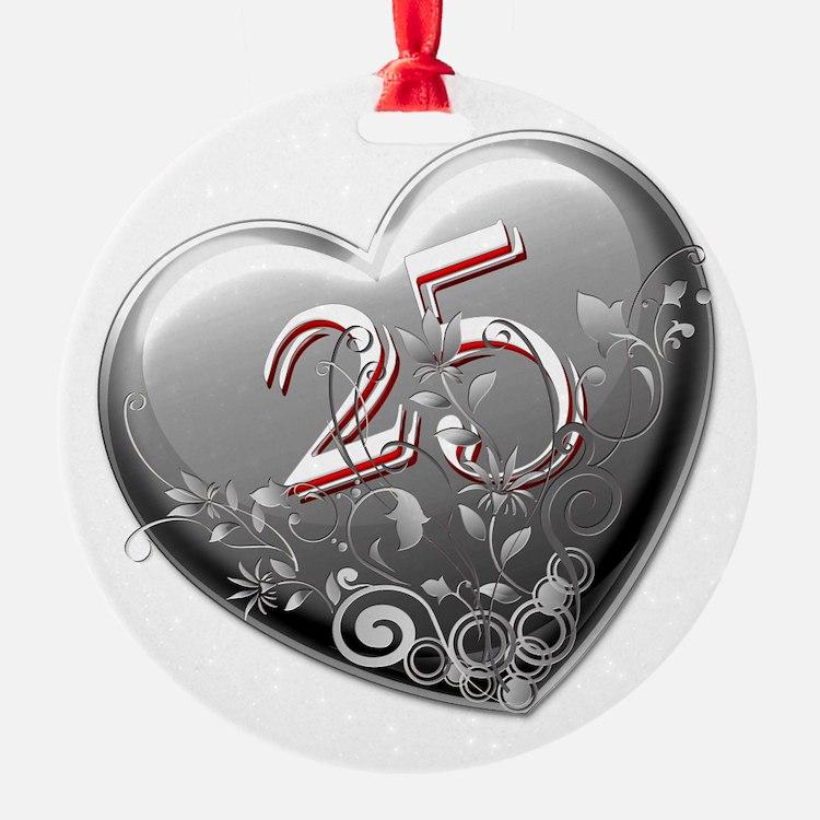 25th Anniversary Ornament
