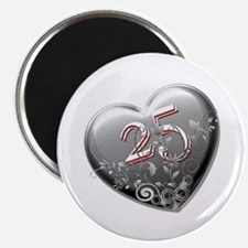 25th Anniversary Magnet
