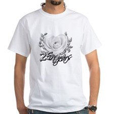 Silver Anniversary Rose Shirt