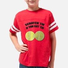 Tennis Balls Youth Football Shirt